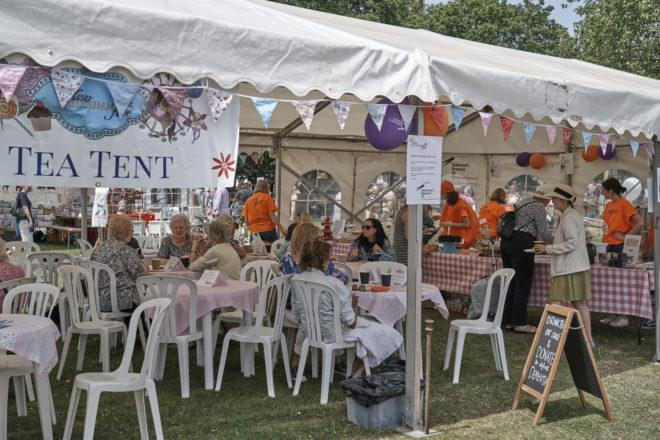 Kew Fete Tea Tent