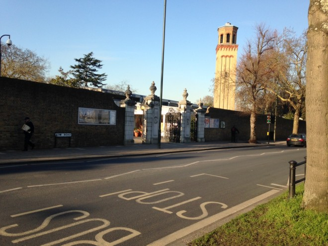 Victoria Gate Winter