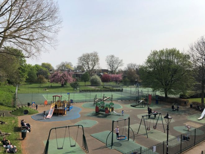 Westerly Ware Playground 1904