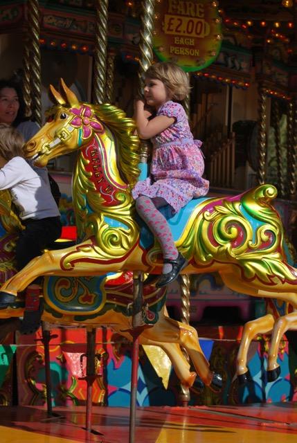 Kew Fete carousel