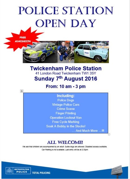 Police Tw Open Day 160807