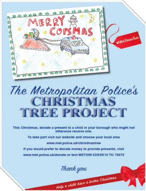 Christmas Tree Appeal Poster 2018