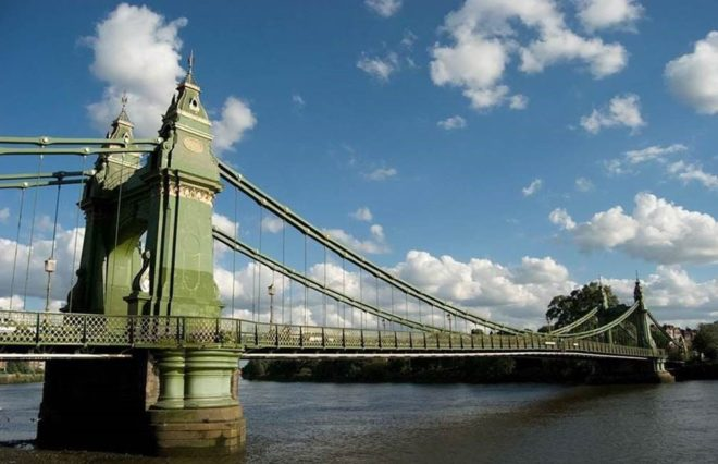 Hammersmith Bridge 2