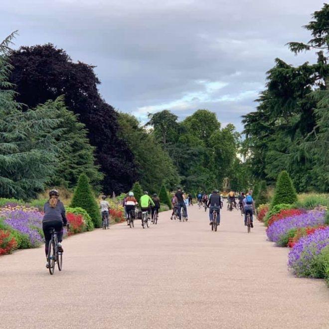 Cycle Day at Kew Garens