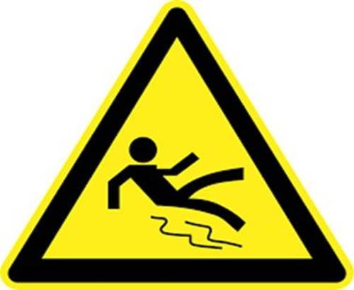 Safety Sign Ice