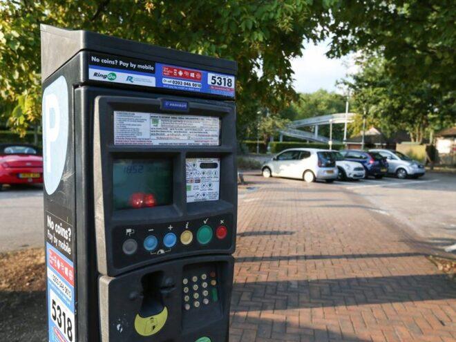 Parking Machine 201110
